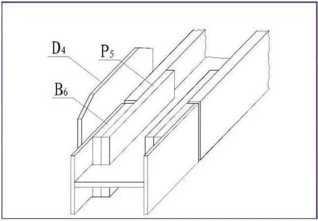 钢屋架结构图 屋架简图,屋架详图(包括节点图),杆件详图,连接板详图
