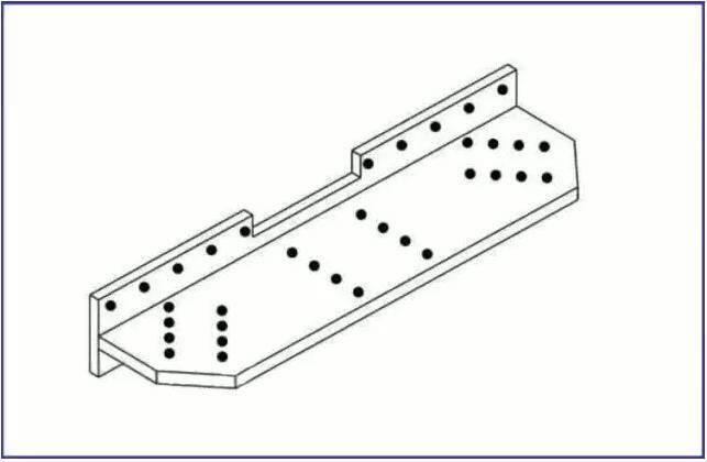 钢结构构件立体图画法