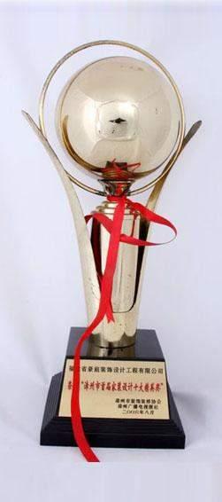 漳州市首届家装设计十大精英奖