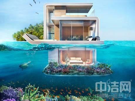 水上别墅效果图