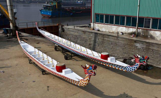 12人标准型龙舟(双壳型)
