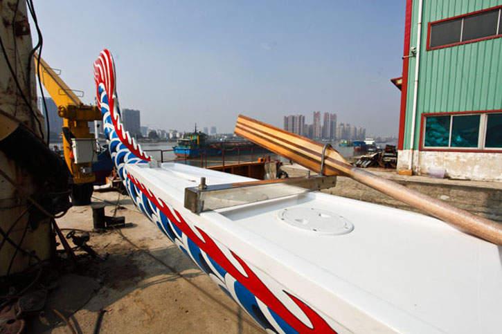 23人标准型龙舟(双壳型)