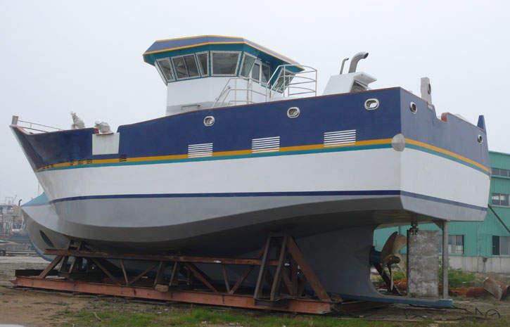 17m出口渔船