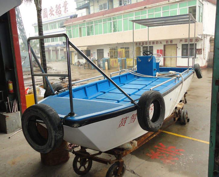 6.2m湖面保洁船