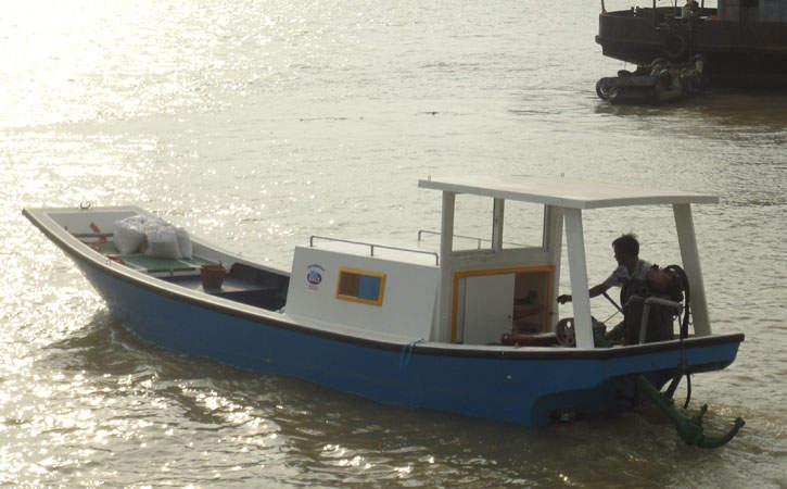 8.1米玻璃钢渔业船舶