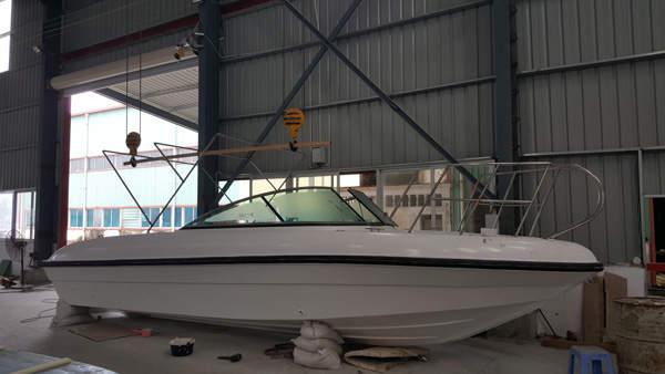 760敞开式休闲钓鱼艇
