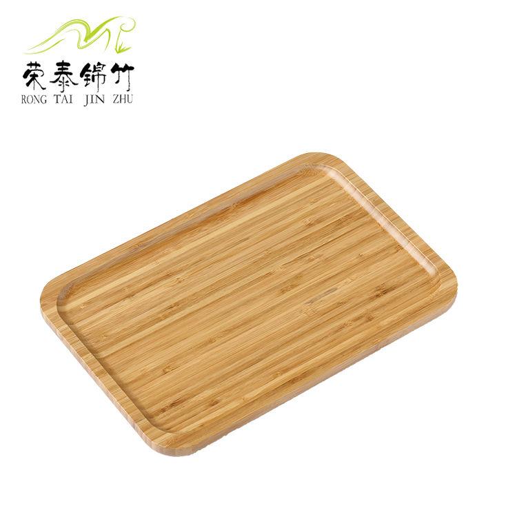 厂家直销 日式竹托盘 零食小吃 水果盘 可定制定做生产