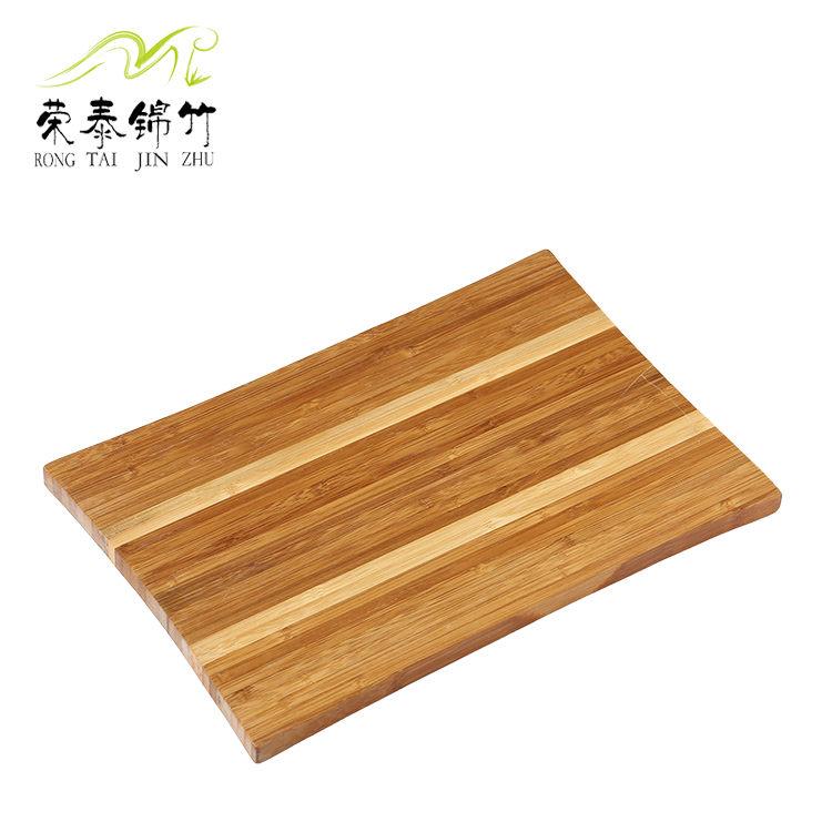 侧压斑马纹菜板 竹砧板 竹菜板  时尚的厨房用品