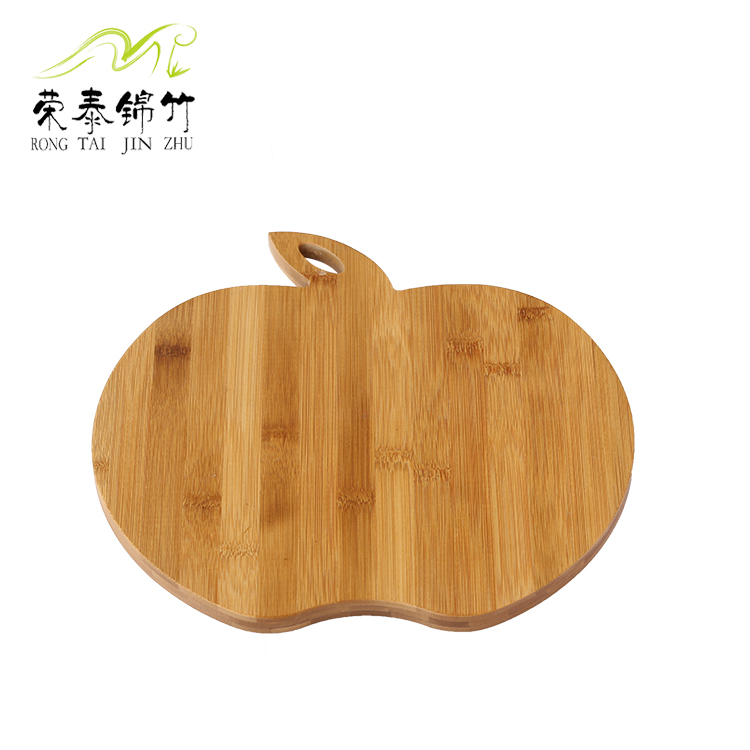 苹果形菜板 竹砧板 水果板 创意新品