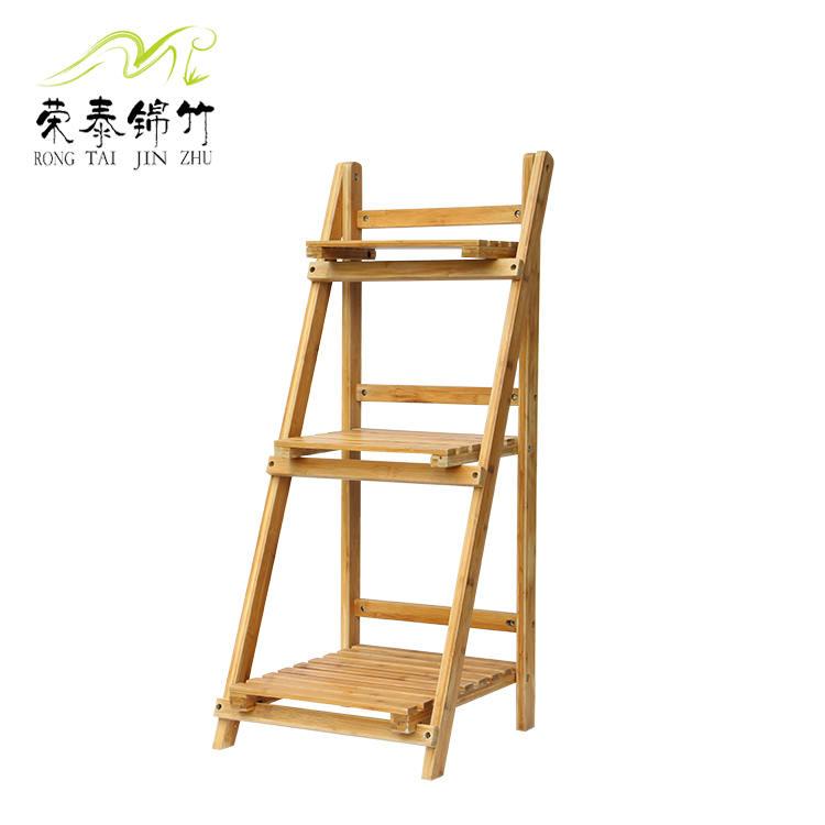 厂家直销 德赢vwin官网AC米兰三层德赢vwin客户端 折叠架 花架 天然竹产品